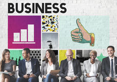 Concepto de la sociedad de crecimiento de la estrategia empresarial imagen de archivo libre de regalías