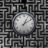 Concepto de la solución del tiempo ilustración del vector