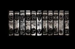 Concepto de la supervisión Imagen de archivo