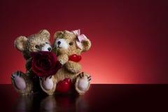 Concepto de la tarjeta del día de San Valentín fotos de archivo libres de regalías