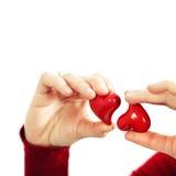 Concepto de la tarjeta del día de San Valentín del St Imágenes de archivo libres de regalías