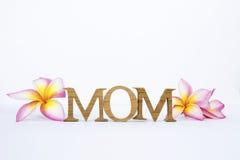 Concepto de la tarjeta del día del ` s de la madre Imagen de archivo libre de regalías