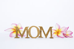Concepto de la tarjeta del día del ` s de la madre Foto de archivo libre de regalías