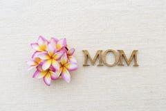 Concepto de la tarjeta del día del ` s de la madre Fotografía de archivo