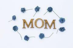 Concepto de la tarjeta del día del ` s de la madre Fotos de archivo libres de regalías
