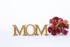 Concepto de la tarjeta del día del ` s de la madre Imagen de archivo