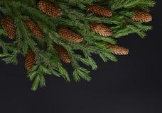 Concepto de la tarjeta de felicitación de la Navidad o del Año Nuevo Fotografía de archivo libre de regalías
