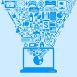 Concepto de la tecnología Imagenes de archivo