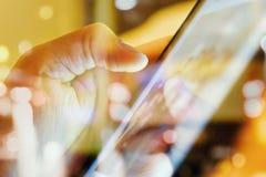Concepto de la tecnología de comunicación Foto de archivo libre de regalías