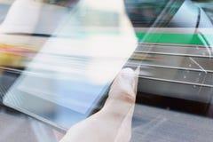 Concepto de la tecnología del negocio Imagen de archivo