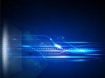 Concepto de la tecnología digital del vector, fondo abstracto Fotografía de archivo libre de regalías
