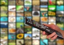 Concepto de la televisión imágenes de archivo libres de regalías