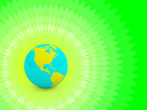 Concepto de la tierra verde Fotografía de archivo libre de regalías