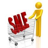 concepto de la venta 3d stock de ilustración