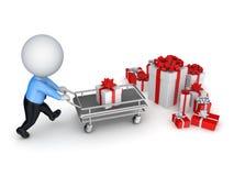 Concepto de la venta de Navidad. Foto de archivo libre de regalías