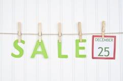 Concepto de la venta del día de fiesta Imagen de archivo libre de regalías