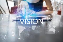 Concepto de la visión Concepto del negocio, de Internet y de la tecnología Imágenes de archivo libres de regalías