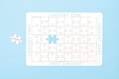 Concepto de la zona de comodidad Imagen de archivo libre de regalías