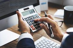 Concepto de las actividades bancarias de la contabilidad del financiamiento del negocio fotos de archivo libres de regalías