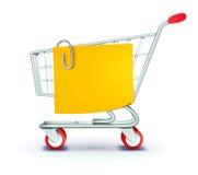 Concepto de las compras Foto de archivo