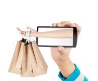 Concepto de las compras Fotografía de archivo libre de regalías
