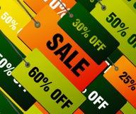 Concepto de las compras Imagen de archivo libre de regalías