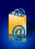 Concepto de las compras del Internet Fotografía de archivo libre de regalías