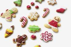 Concepto de las decoraciones de la celebración del Año Nuevo de la Navidad Fotografía de archivo libre de regalías