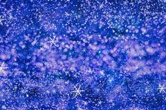 Concepto de las decoraciones del papel pintado de la Navidad contexto del festival del día de fiesta: exhibición encendida círcul Imagen de archivo libre de regalías