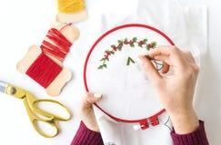 Concepto de las decoraciones de la celebración del Año Nuevo de la Navidad Imagen de archivo