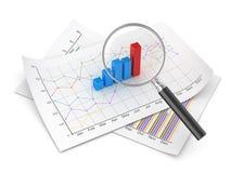 Concepto de las finanzas ilustración del vector