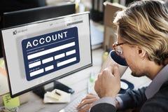Concepto de las finanzas del banco de la tarjeta de cajero automático de la cuenta fotografía de archivo
