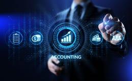 Concepto de las finanzas del negocio del cálculo de las actividades bancarias de la contabilidad que considera imagen de archivo