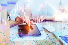 Concepto de las finanzas y de la economía imágenes de archivo libres de regalías