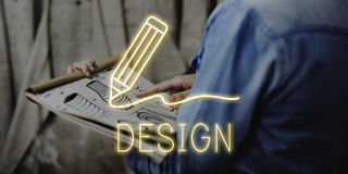 Concepto de las habilidades de Art Pencil Drawing Creativity Imagination Fotos de archivo
