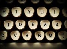 Concepto de las ideas Imagen de archivo libre de regalías