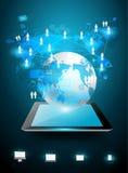 Concepto de las ideas del negocio de la tecnología del vector Foto de archivo libre de regalías