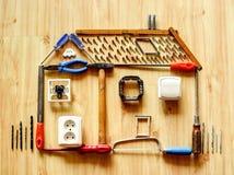 Concepto de las mejoras para el hogar Imagen de archivo libre de regalías