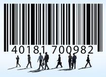 Concepto de las mercancías de la mercancía del precio del código de barras libre illustration
