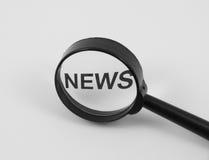 Concepto de las noticias Imágenes de archivo libres de regalías
