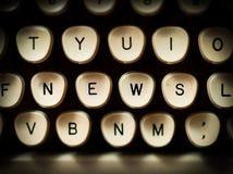 Concepto de las noticias Foto de archivo libre de regalías