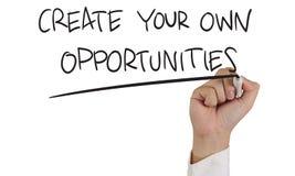 Concepto de las oportunidades Foto de archivo
