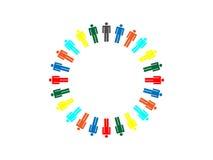 Concepto de las personas del trabajo ilustración del vector