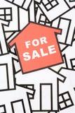 Concepto de las propiedades inmobiliarias Imagen de archivo libre de regalías