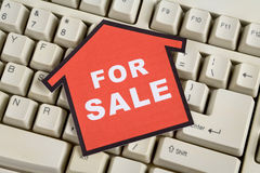 Concepto de las propiedades inmobiliarias imagenes de archivo