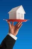 Concepto de las propiedades inmobiliarias Imágenes de archivo libres de regalías