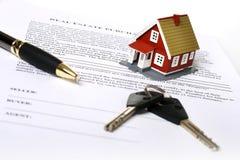 Concepto de las propiedades inmobiliarias. imagen de archivo