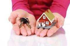 Concepto de las propiedades inmobiliarias. Imagen de archivo libre de regalías
