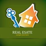Concepto de las propiedades inmobiliarias stock de ilustración