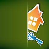 Concepto de las propiedades inmobiliarias ilustración del vector